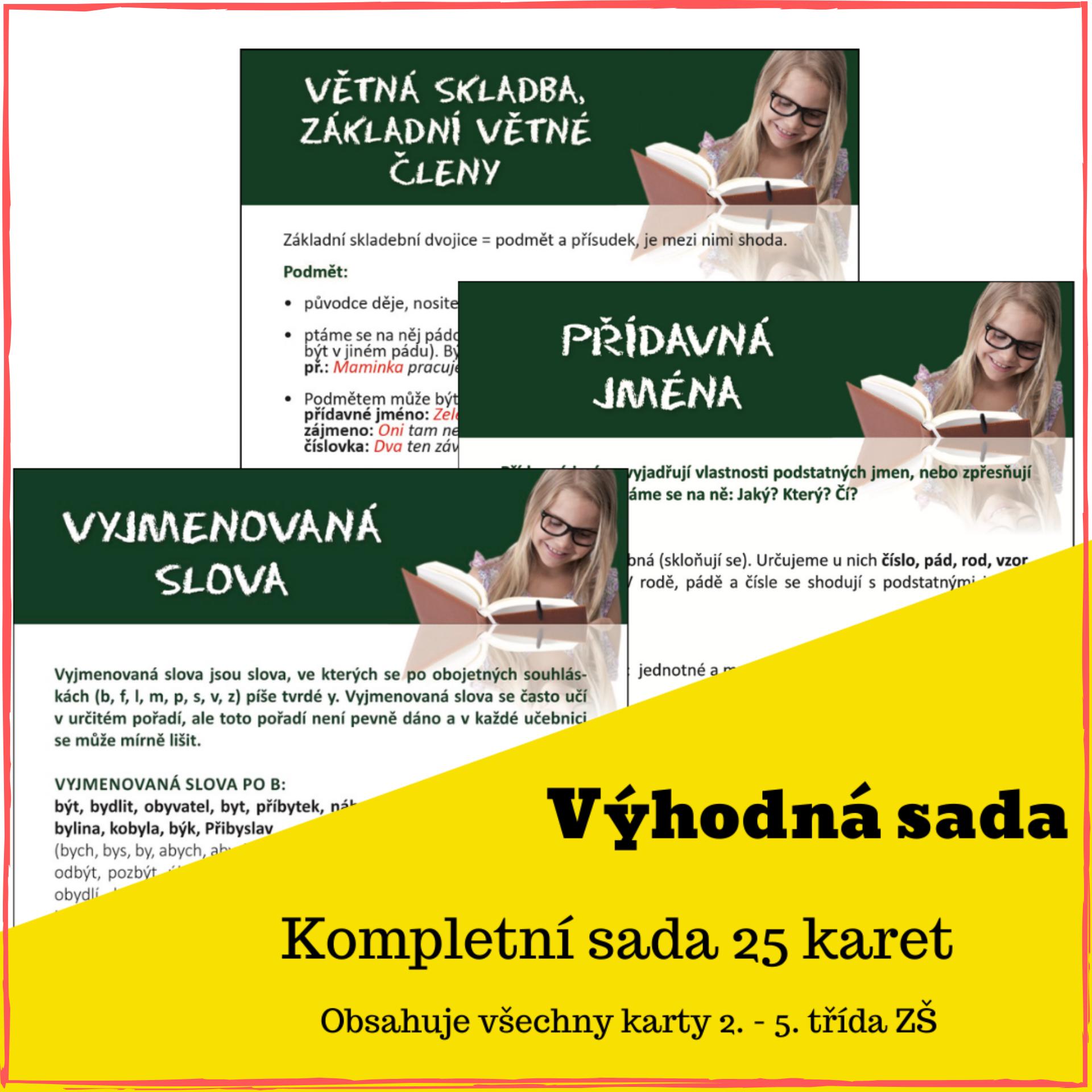 Český jazyk 2.-5. třída